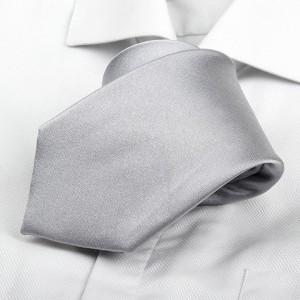 Kravata Len Silver