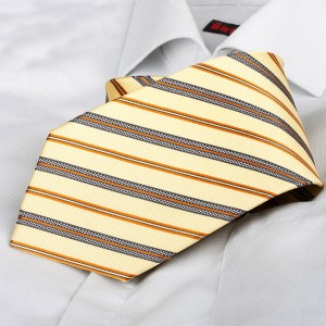 Kravata Charles Yellow